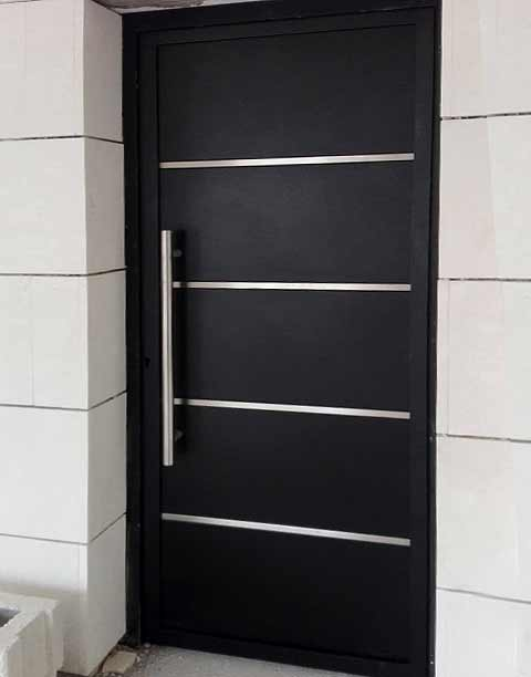 puertas metalicas exteriores